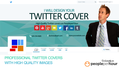 Design your Twitter cover