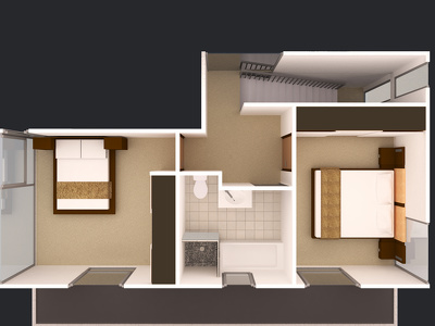 Create 3d floor plan of your building