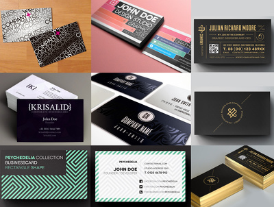 Business Card Design with Printing and Delivery