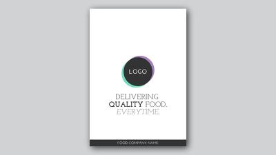 Create a Posh, Flat, and Minimalist Poster