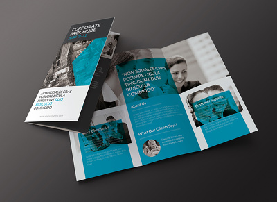 Design beautiful bespoke tri-fold brochure