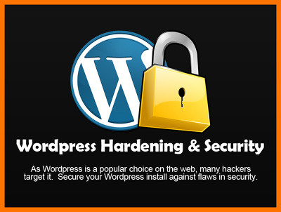Harden your Wordpress site and promote better Security