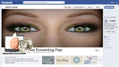Design bespoke social media cover photos for your business