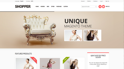 Install magento, fine-tune it, upload & configure your theme