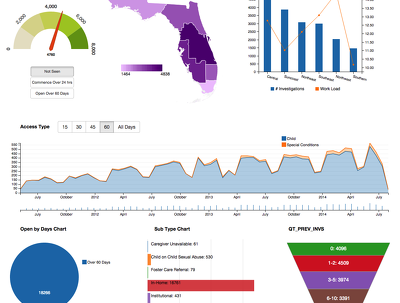 Build Business intelligence Dashboard