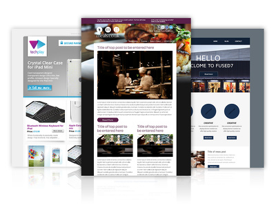 Design and build a fully editable mobile responsive email template