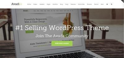 Install and customize avada premium themeforest wordpress theme