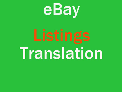 Translate your eBay tech listings and terms and conditions: 500 words eng/ita fr/ita