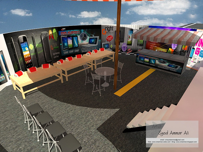 Visualize Outdoor or Indoor event in 3D Graphics (Unlimited Revisions)