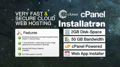 Provide very fast & secure cloud web hosting