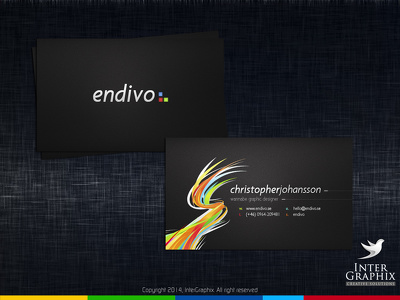 Design a very creative and Professional Business Card