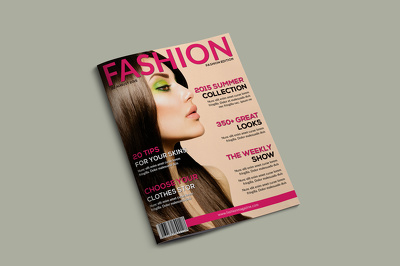 Design a Magazine Cover with unlimited revisions