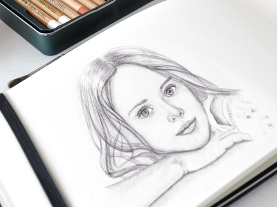 Create a beautiful pencil portrait from your photo