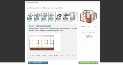 Develop green house software