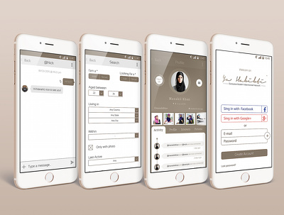 Design Stunning Mobile App UI for Android, iOS (Wireframe UX and other available)