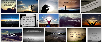 Send you 500 Inspirational Quote Pictures to use on your website or social media.