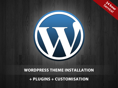 Install wordpress and theme + demo content + top plugins + customisation