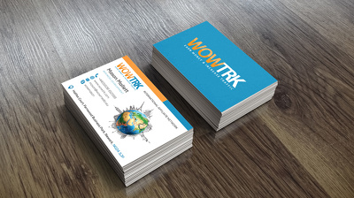 design you a proffessional double sided business card
