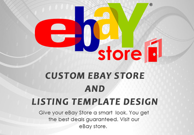 Design ebay store and listing template