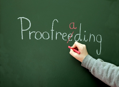 Proofread up to 750 words of an English or Arabic document