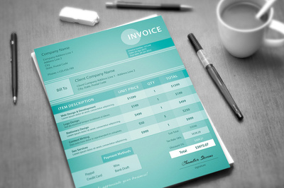 Design a professional Invoice for your business