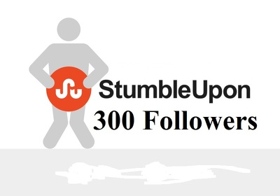 300 Genuine StumbleUpon followers to increase  Social Media SEO and Website Ranking