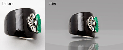 edit jewelry images (background remove) quantity of 50