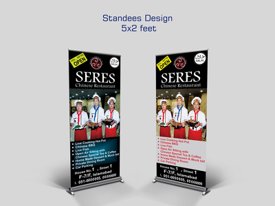 Design a 5x2 Standees for you