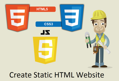 Design a 5 page static website