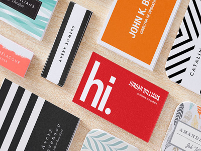Design elegant and professional business card with unlimited modification