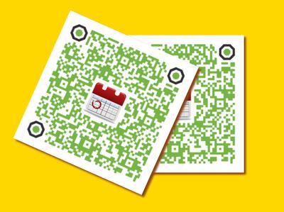 Generate Work Schedule through a QR Code