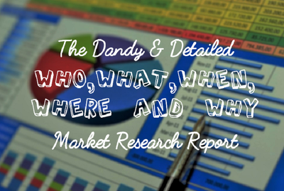 Produce a detailed Market Research Report bespoke to your Business or Idea