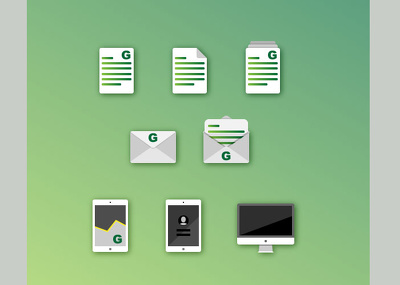 Create set of customised icons with unlimited revisions