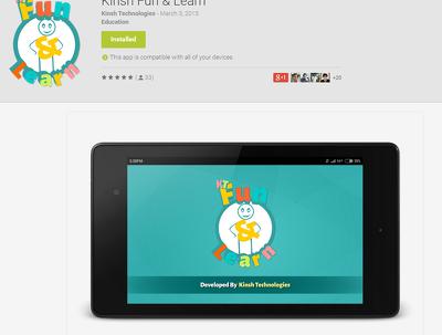 7 Android Installs, 5 Star Ratings & Descriptive Reviews
