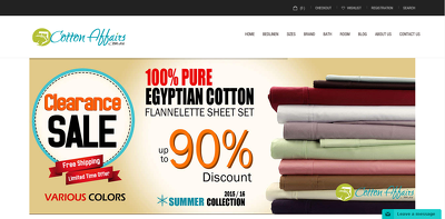Create online web store (eCommerce)