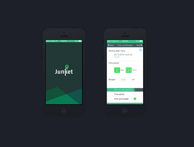 Create a modern UI design for iOS, Android or Windows