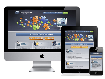 Develop a customized responsive Website