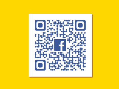 Connect yourself with Social Media through QR Code