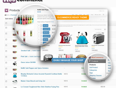 Install, modify, create, woocommerce estore site