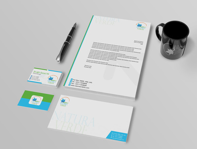 Design a professional logo + stationery identity + favicon