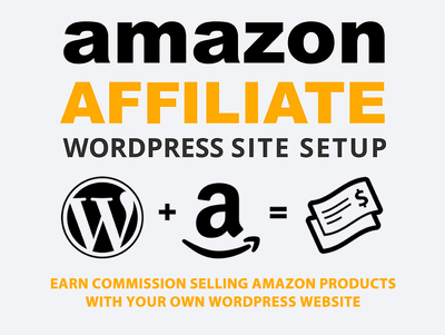 Build a custom niche Amazon affiliate website to generate income