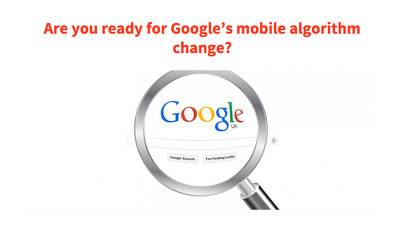 Convert your website to be mobile friendly