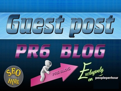 Do guest post article on PR6 Site