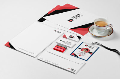 premium Corporate Branding Package for your business - Logo,Prints & Social Media