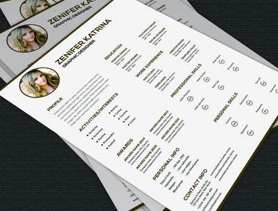 Design CV/Resume with unlimited revisions