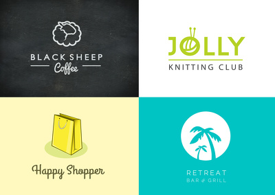 Design a simple, clean, modern logo with amendments