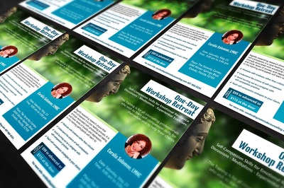 Design an attractive and professional posters and flyers(both page)