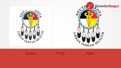 Vectorize your logo/illustration/Graphics