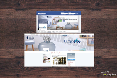 Design matching Facebook page & Twitter page