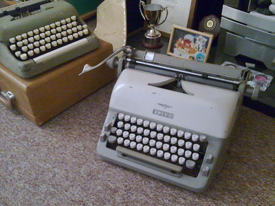 Typewrite Your Brief Notes Into Typewritten Documents, Typed, on a Typewriter